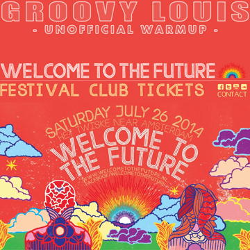 DJ Groovy Louis - Welcome To The Future 2014 (Unofficial Warmup) - techhouse mix